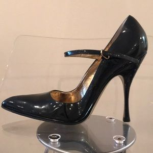 DOLCE & GABBANA black patent leather Mary Janes